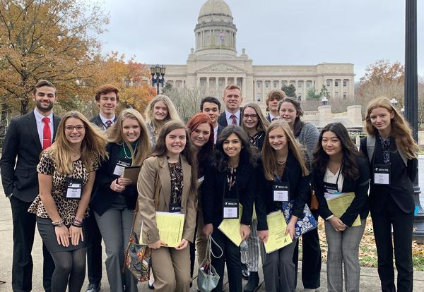 MHS recognized as Premiere Delegation at 2019 KYA