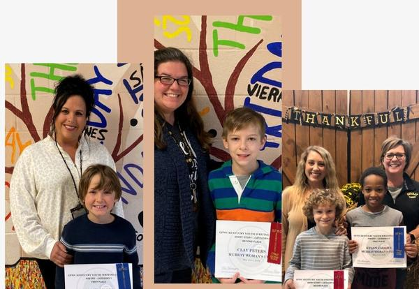 MES Students Named State Winners in KY Women's Club Writing Contest