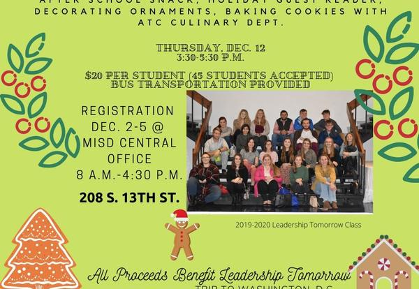 MES Second and Third Grade Students Can Attend After-School Holiday Fundraiser