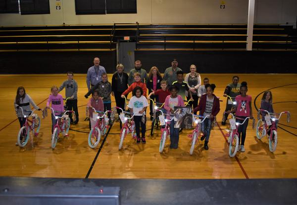 MMS Students Receive Bikes as Holiday Surprise