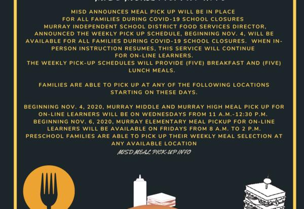 MISD Meal Pick Up Will Be In Place For All Families During COVID-19 School Closures