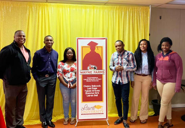 students selected for cohort