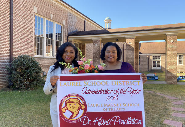 Laurel Magnet School Principal selected Administrator of the Year