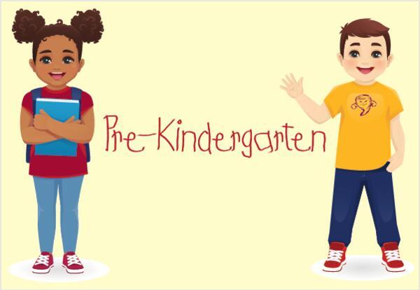 kindergarten students words pre-kindergarten