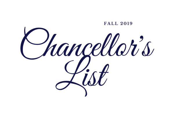 Fall 2019 Chancellor's List