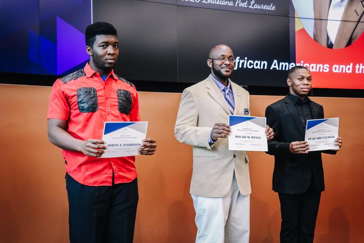 Black Male Initiative Scholarship Recipients