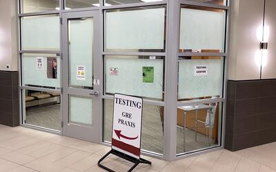 Picture of Louisiana Delta Community College's Testing Center Front Door