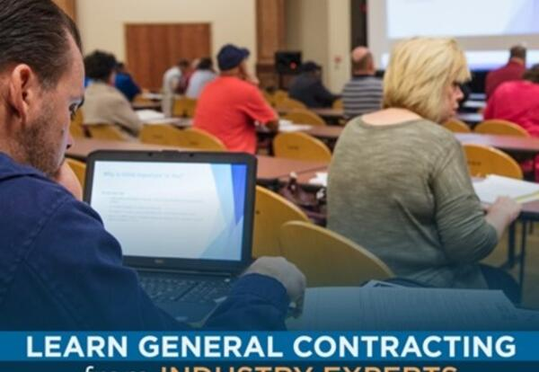 Learn General Contracting from Industry Experts