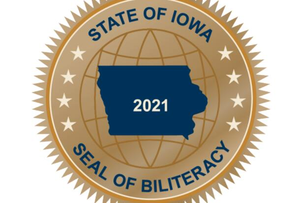 State of Iowa Seal of Biliteracy 2021