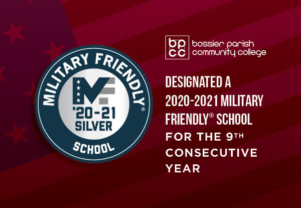 BPCC EARNS 2020-2021 MILITARY FRIENDLY DESIGNATION