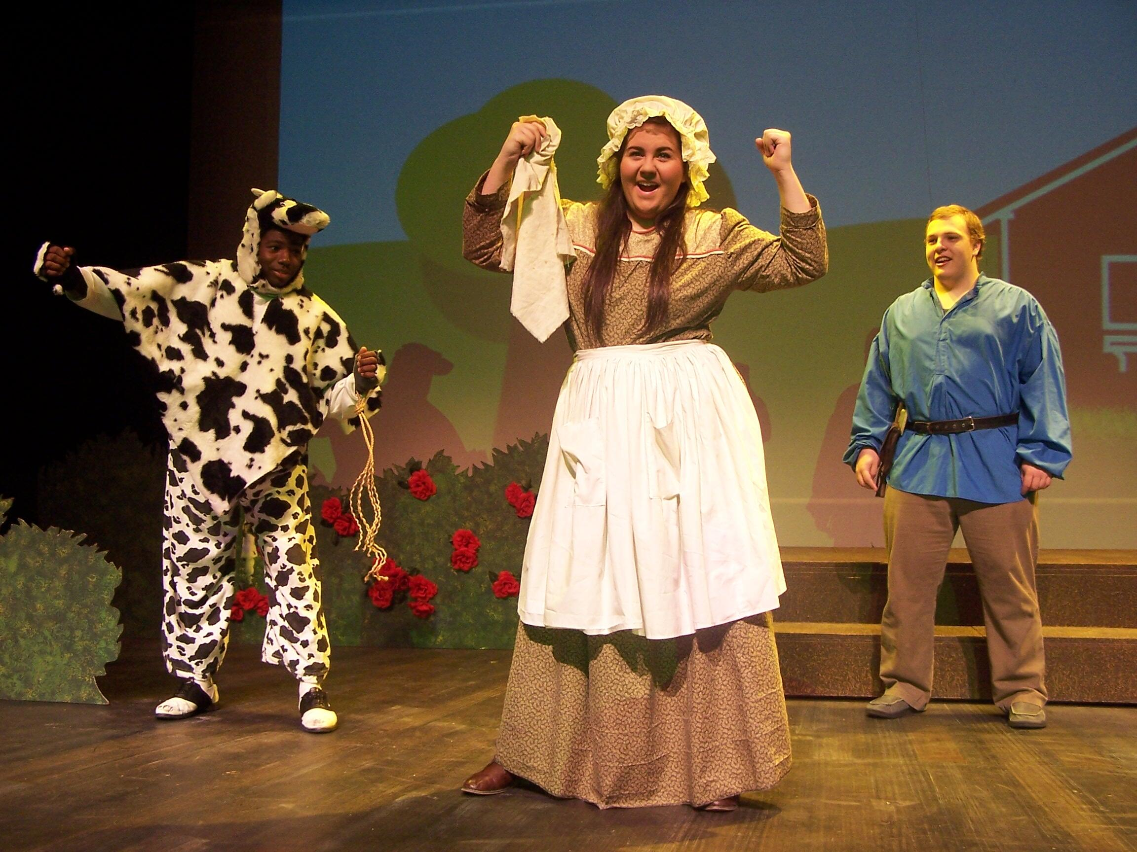 Picture of students performing Jack and the Beanstalk