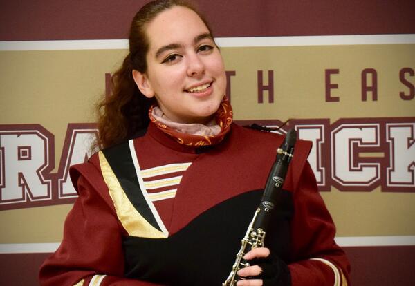 Congratulations Victoria Schwartz, All-State Band Qualifier