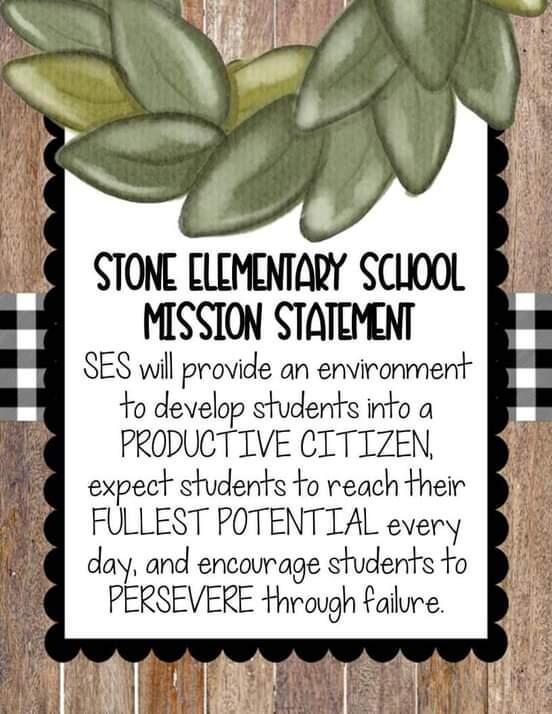 SES Mission Statement Banner