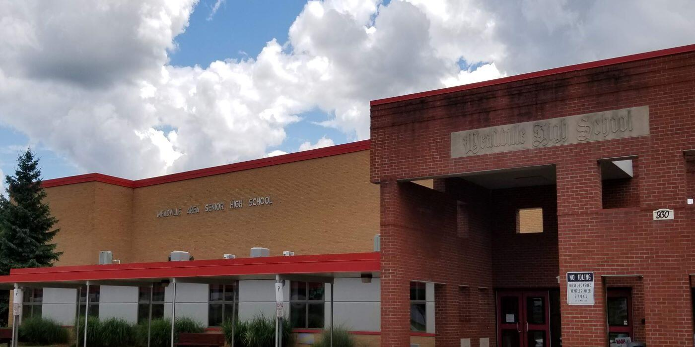 Meadville Area High School Building