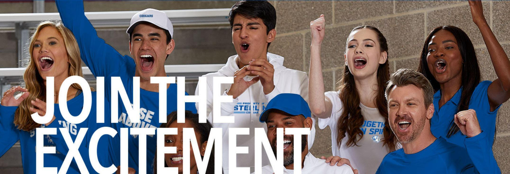 Join the Excitement - Buy Gear at the School Store