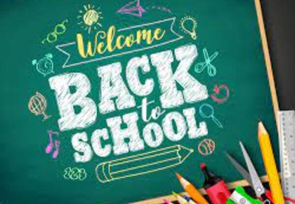 Welcome Back to School 2022