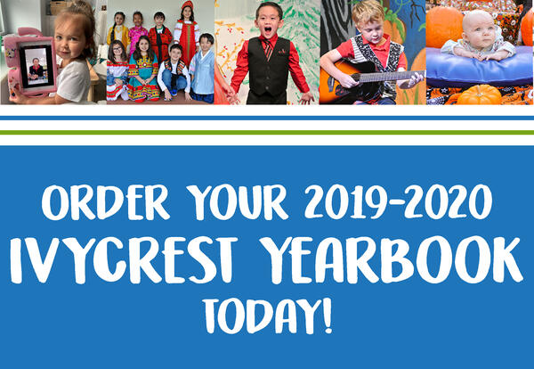 2019-2020 Yearbook now available!
