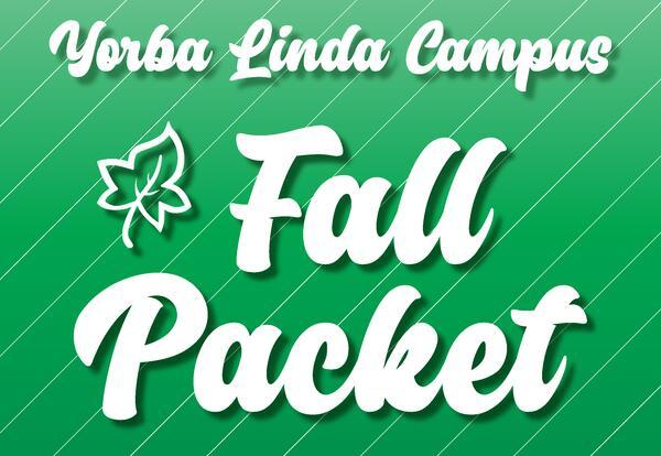 2020-2021 Yorba Linda Fall Packet
