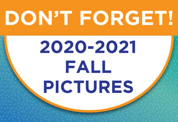 Fall Pictures Are Next Week