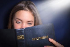 Student Reading the Bible