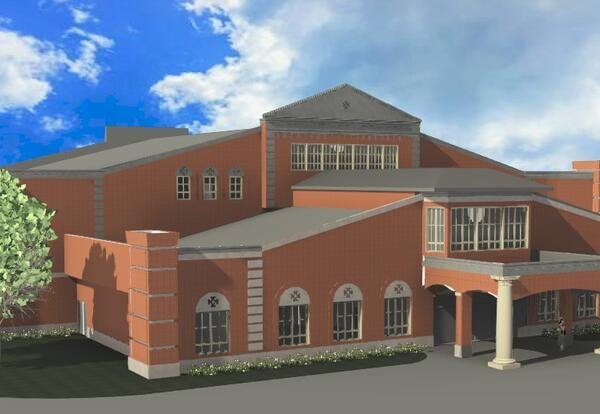 Rendering of Evergreen Christian School Building