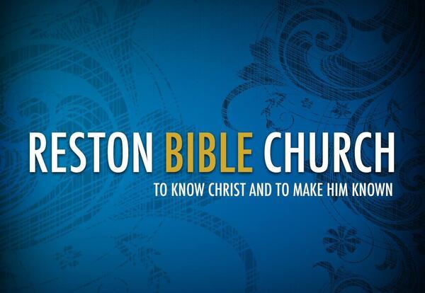 Logo for Reston Bible Church