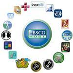 Circle group representing all of the Ebsco Databases available