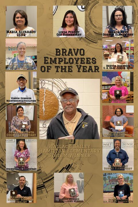 """System """"BRAVO"""" Employees of the Year"""