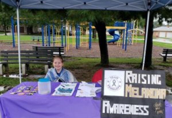Lester fourth grader overcomes cancer, leads effort to raise awareness