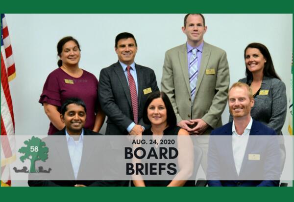 Board Briefs: Aug. 24 Budget Workshop