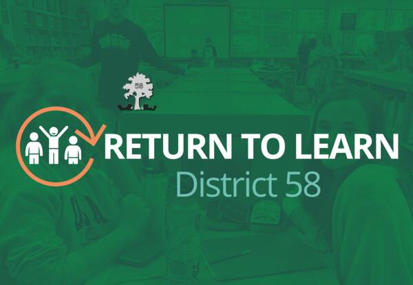 District 58 will continue hybrid model with full remote option