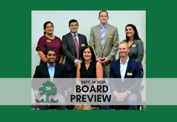 Board of Education: Sept. 14 meeting preview
