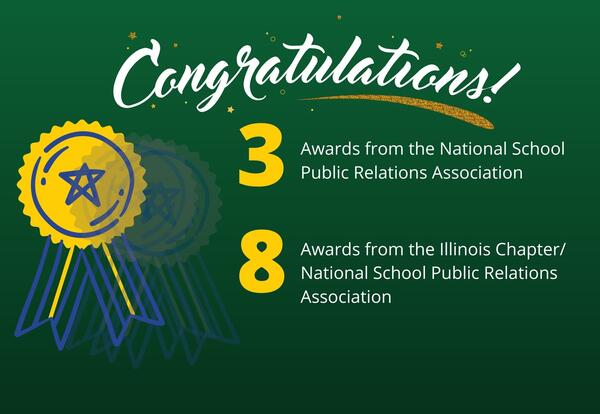 District 58 earns 12 state and national awards for its communications
