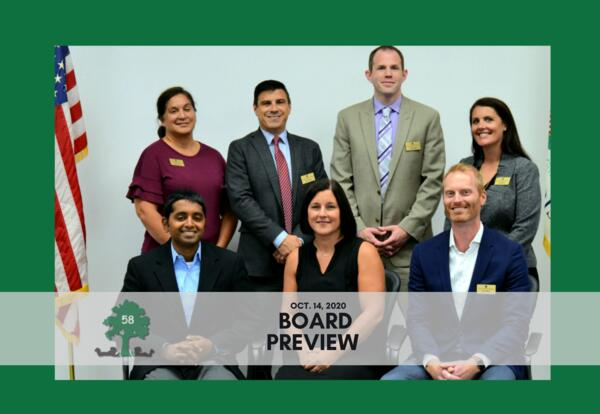 Board Preview: Oct. 14, 2020