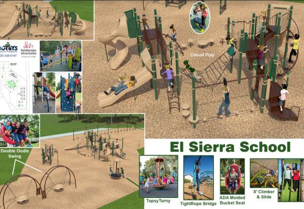 El Sierra earns $180,000 grant to build a new playground