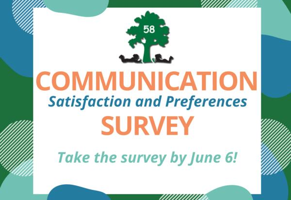 District 58 invites community to take annual communication survey
