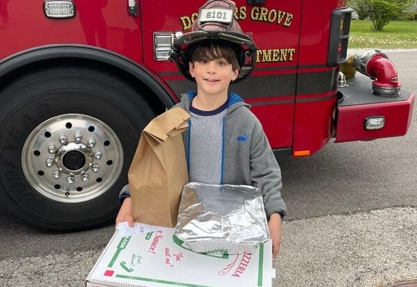 Eight District 58 students win DGFD's Home Fire Escape Plan contest