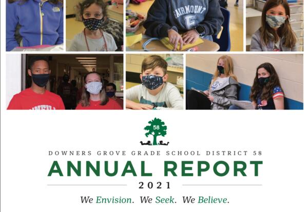 2021 District 58 Annual Report now available