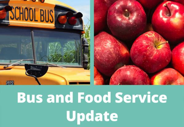 food and bus update