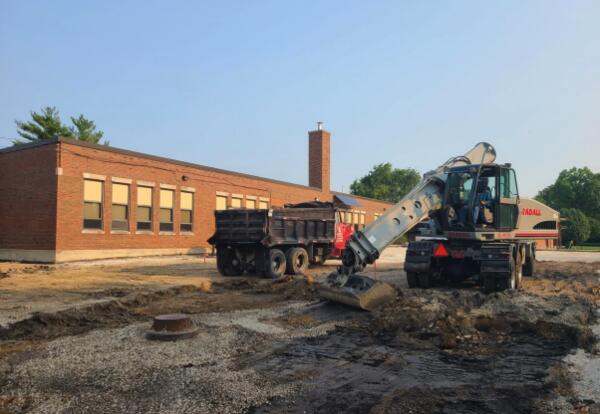 District 58 tackles many summer construction projects