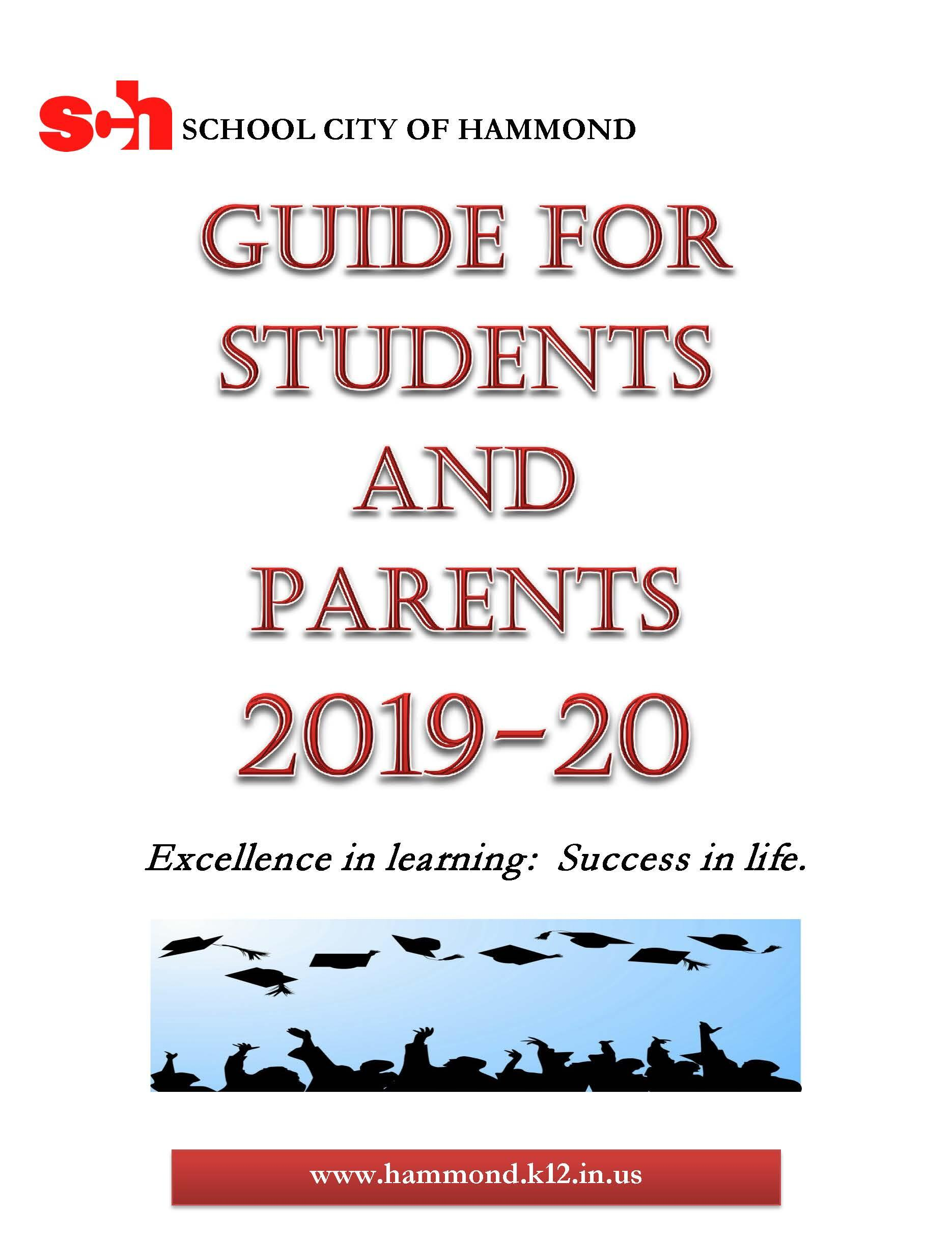 Guide For Students and Parents 2019-2020 - English