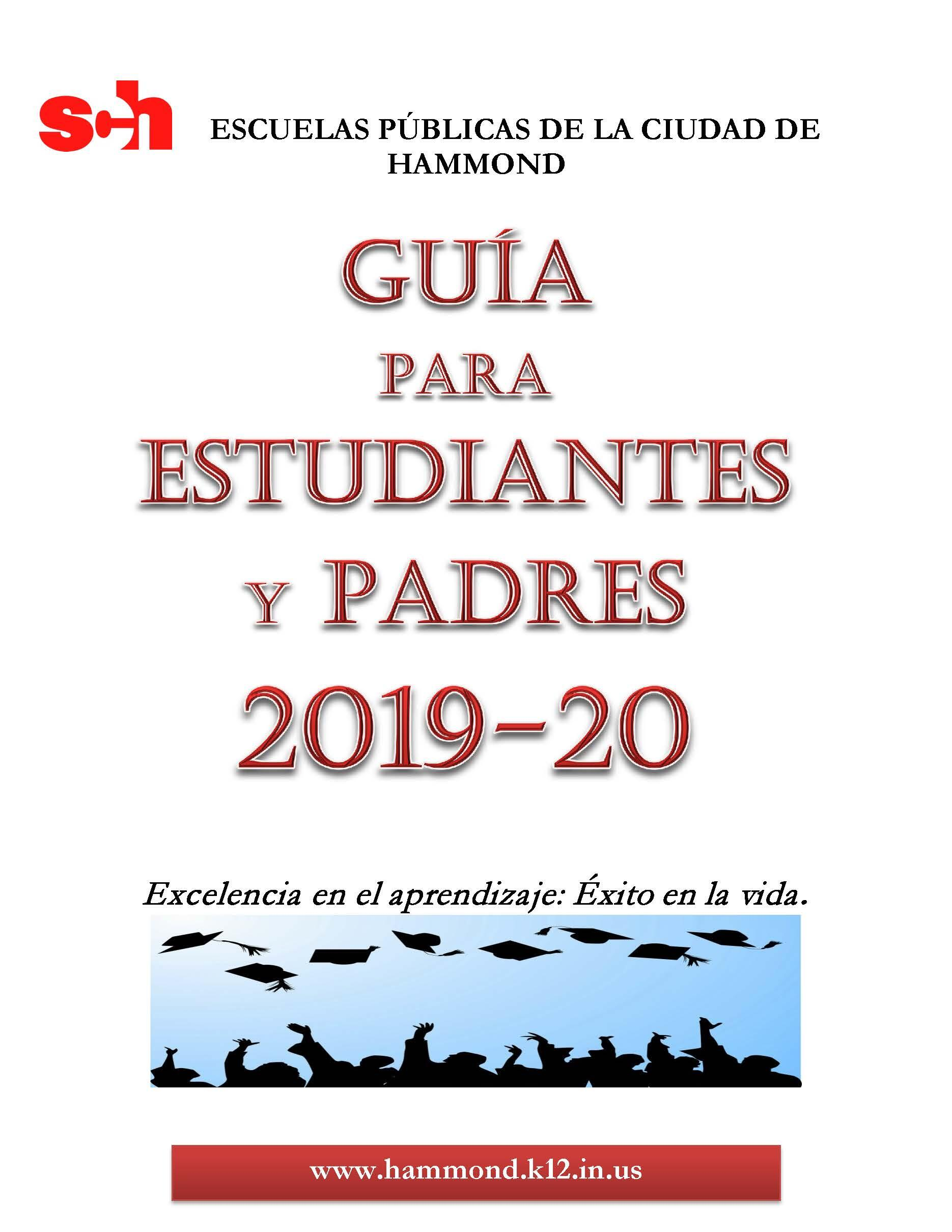 Guide For Students and Parents 2019-2020 - Spanish