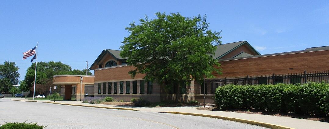 Irving Elementary School Front View