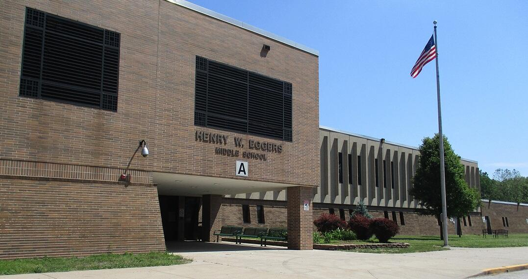Eggers Middle School Front View