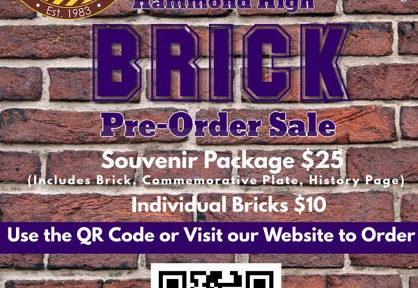 Hammond Education Foundation Launches Hammond High Souvenir Brick Sale