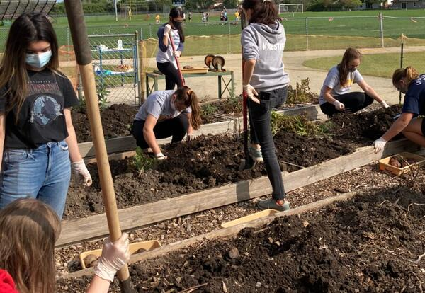 WHS Ecology Club Harvest