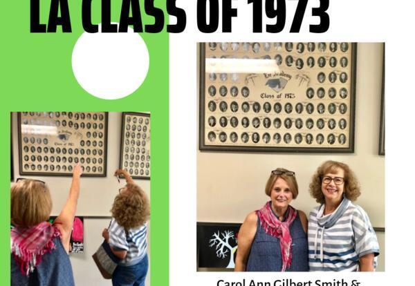 Class of '73 Graduates visit Lee!