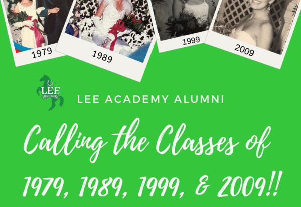 Calling the Classes of 1979, 1989, 1999, & 2009!