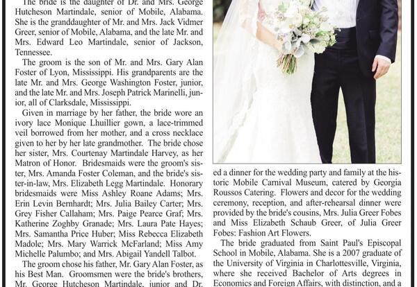 Lee Alumni Engagements & Weddings
