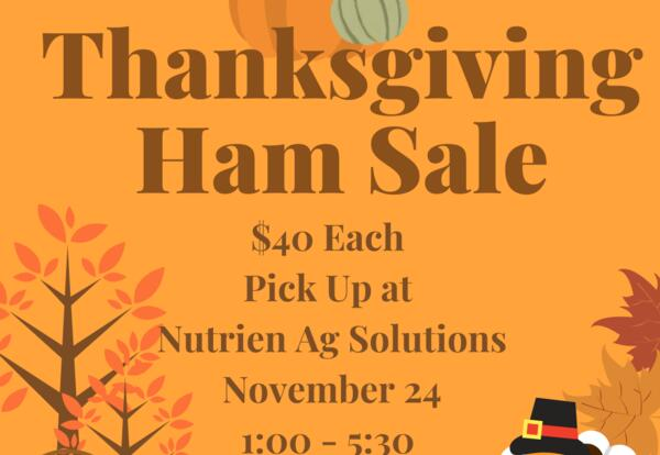 Lee Booster Club Thanksgiving Ham Sale